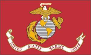 Flag Zone Marines Spearhead Flag 12ea/12Inx18 in