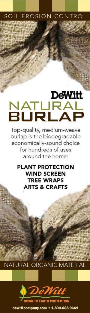 DeWitt Natural Burlap Natural 30ea/3Ftx12 ft