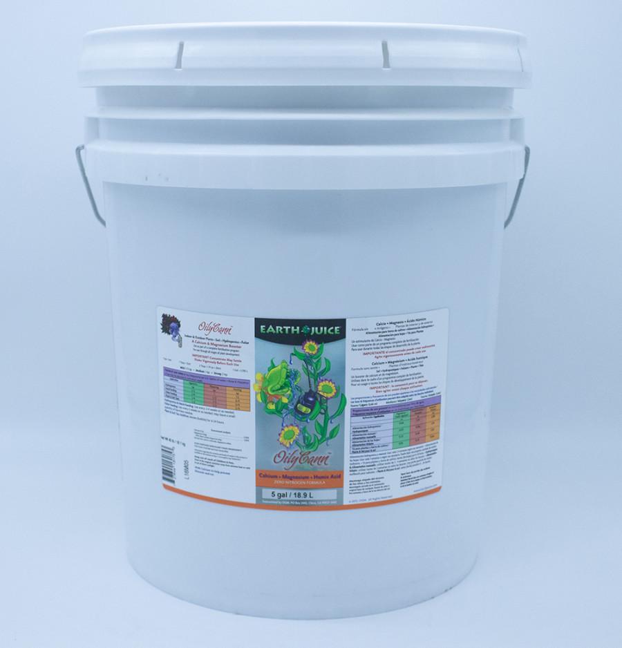 Earth Juice OilyCann Calcium, Magnesium & Humic Acid Supplement 1ea/5 gal