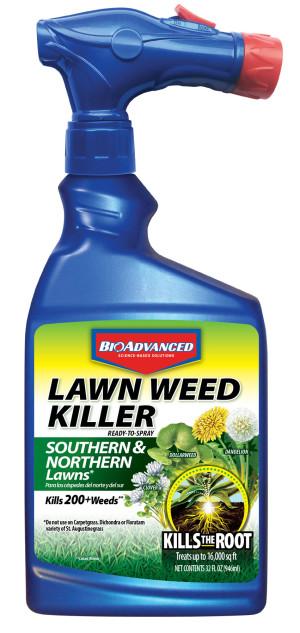 BioAdvanced Lawn Weed Killer South & North Lawn 8ea/32 fl oz