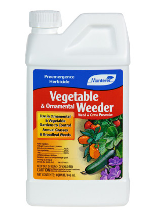 Monterey Vegetable & Ornamental Weeder Pre Emergent Herbicide Concentrate 6ea/32 oz