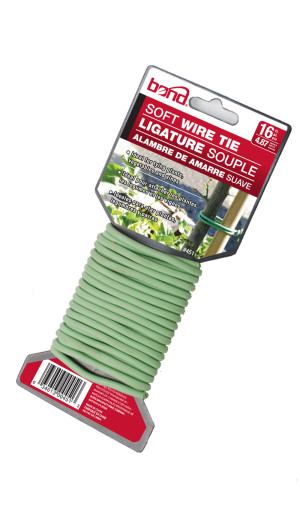 Bond Soft Twist Tie Green 12ea/16 ft