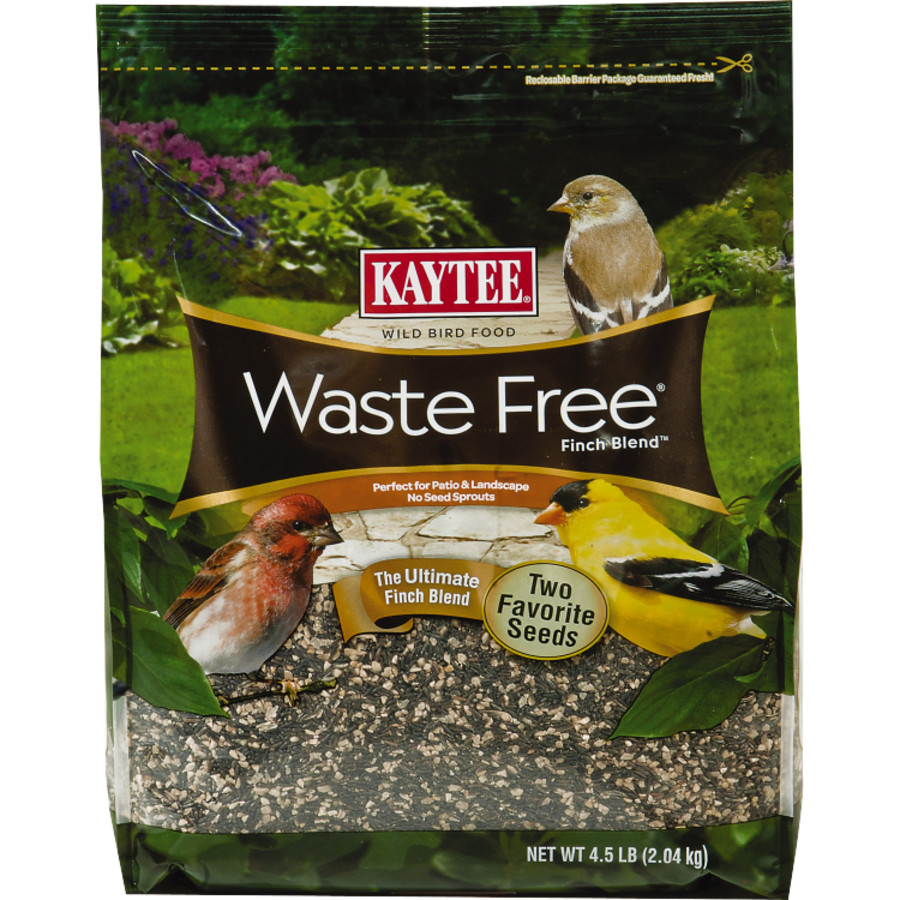 Kaytee Waste Free Finch Blend Stand Up Bag 3ea/4.5 lb