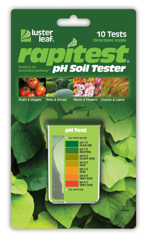 Luster Leaf Rapitest pH Soil Tester Green 12ea/10 pk