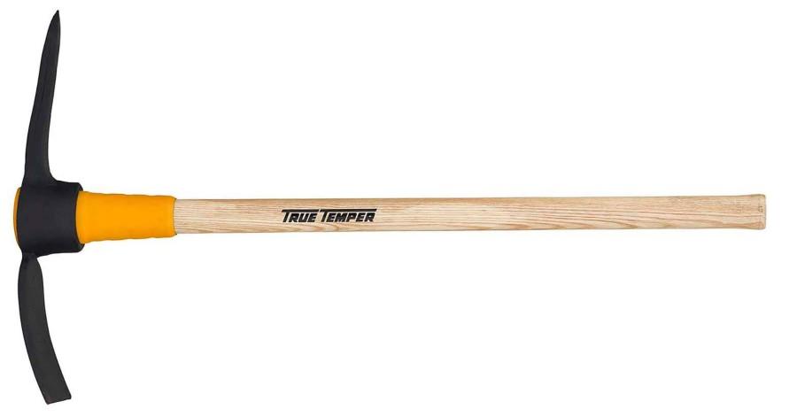 Ames True Temper Toughstrike Pick Mattock Wood Handle Brown 3ea/5 lb