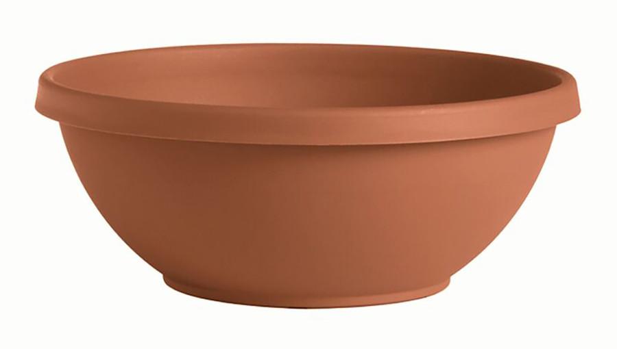 Bloem Terra Bowl Terra Cotta 10ea/14 in