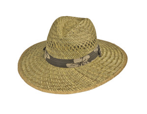 Goldcoast Sunwear Rush Lifeguard Tropical Hat Natural 6ea/One Size