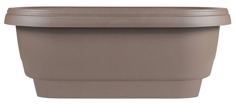 Bloem Deck Rail Planter Chocolate 10ea/24 in
