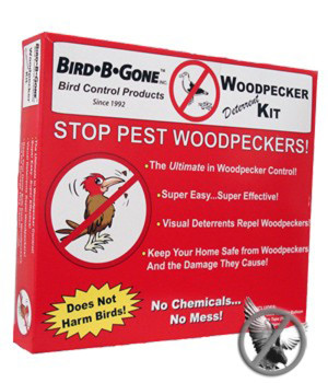 Bird-B-Gone Woodpecker Deterrent Kit 6ea/50 ft
