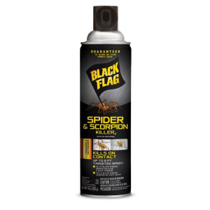 Black Flag Spider & Scorpion Killer Aerosol 12ea/16 oz