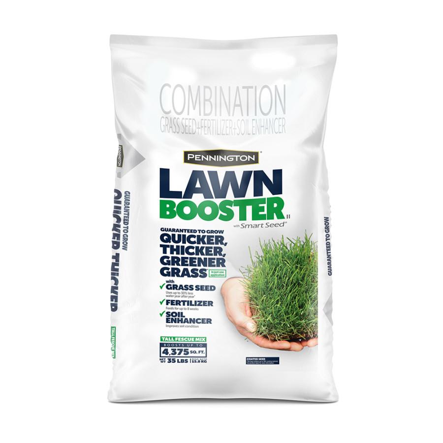 Pennington Lawn Booster Tall Fescue Mix Grass Seed & Fertilizer 1ea/35 lb