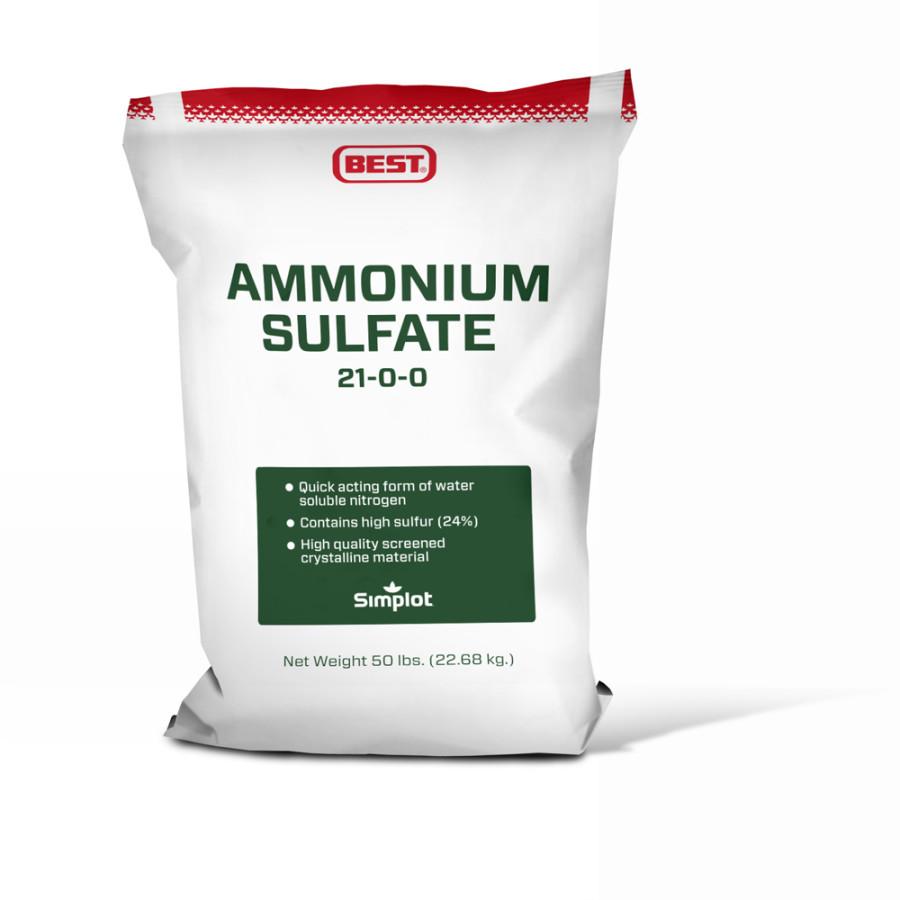 Best Ammonium Sulfate Fertilizer 21-0-0 1ea/50 lb