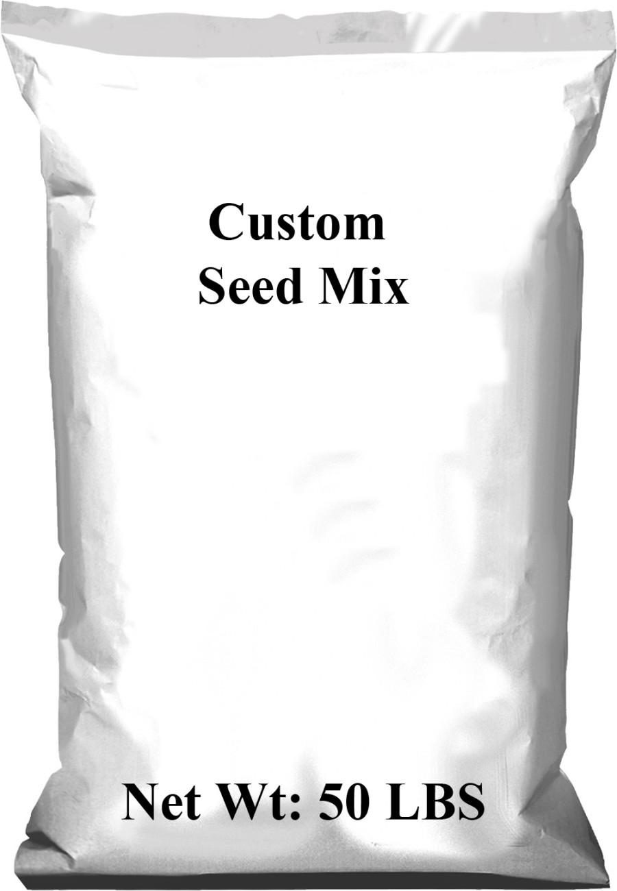 Pennington Custom Seed Mix 1ea/50 lb