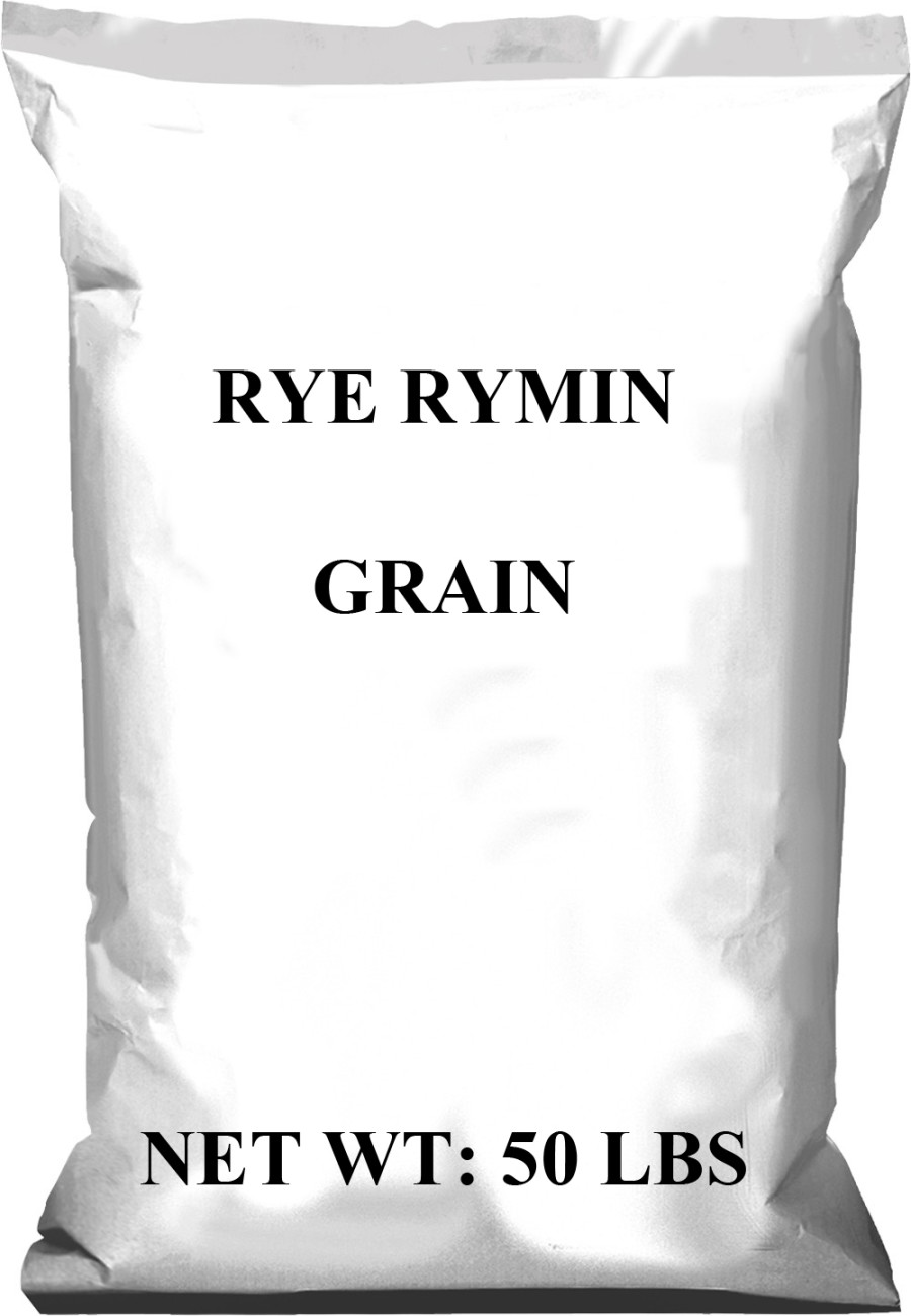 Pennington Rye Rymin Grain Seed 1ea/50 lb
