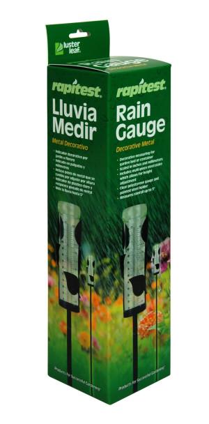 Luster Leaf Rapitest Rain Gauge Decorative Metal Multi-Color 6ea/3.25 In X 11.50 In X 3.00 in