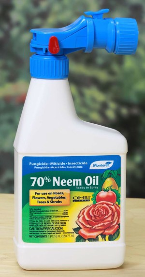 Monterey 70% Neem Oil Fungicide Insecticide Miticide Organic Ready to Spray 12ea/16 fl oz