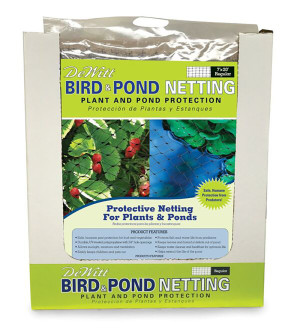 DeWitt Bird & Pond Netting Black 14ea/7Ftx20 ft