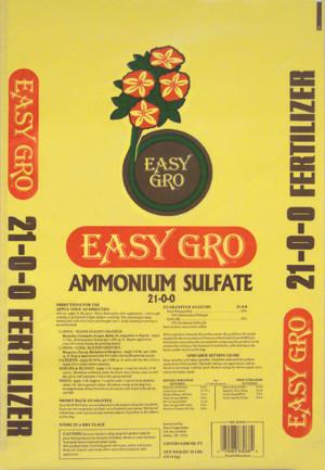 Easy Gro Ammonium Sulfate 21-0-0 2ea/40 lb