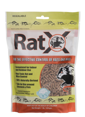 RatX Pellets Rat and Mouse Control 1ea/1 lb