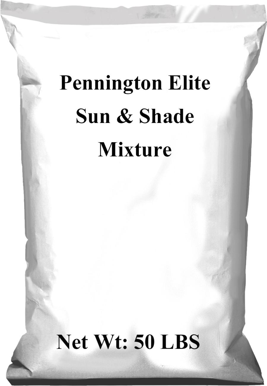 Pennington Elite Sun & Shade Mixture 1ea/50 lb