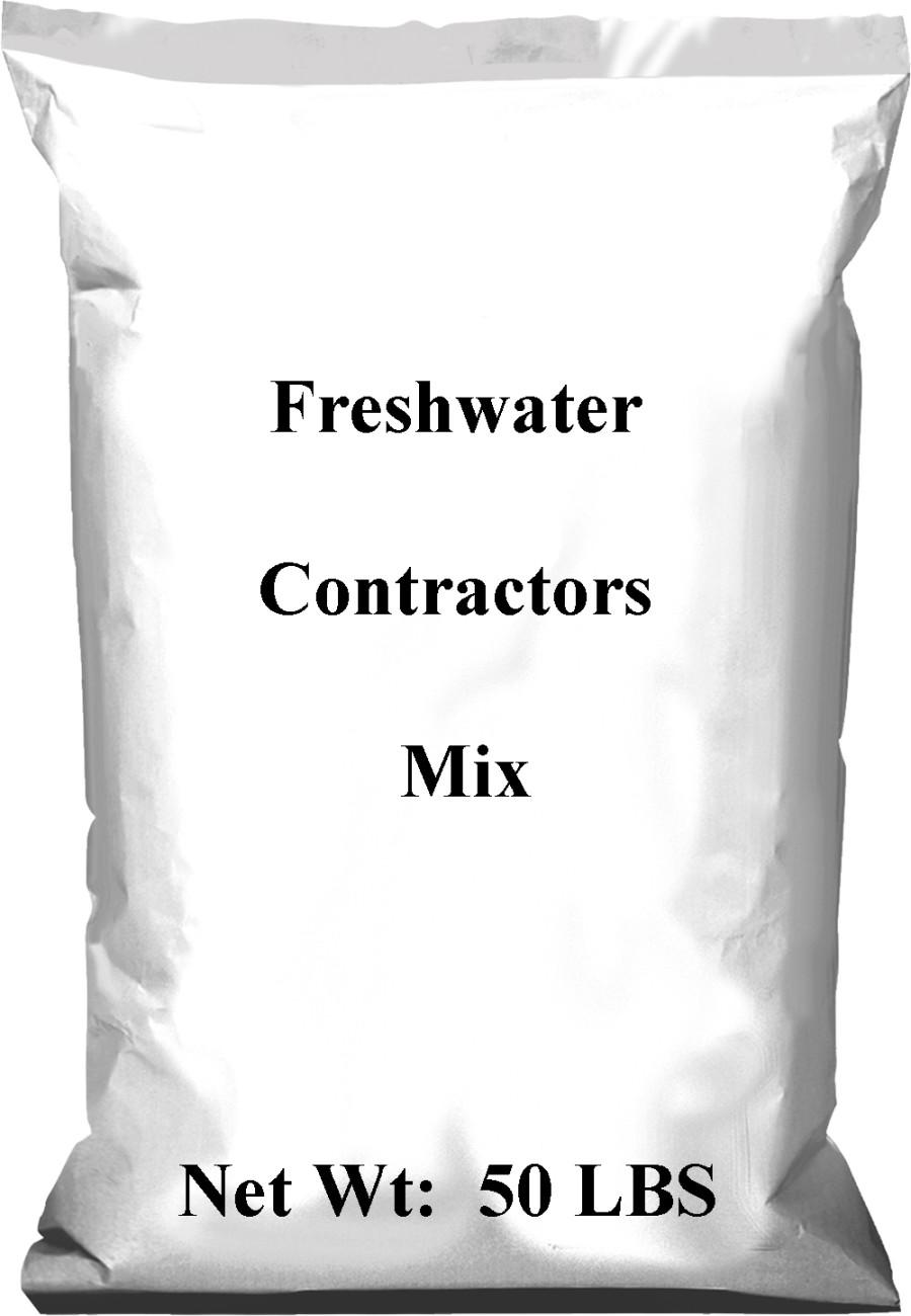 Pennington Freshwater Contractors Mix 1ea/50 lb