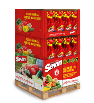 Sevin Bug Killer Ready To Use Sprayer Quarter Pallet 48ea/32 oz