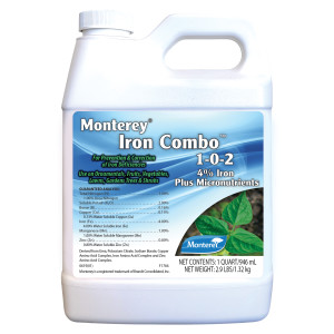 Monterey Iron Combo 4% Iron Plus Micronutrients 10ea/32 fl oz