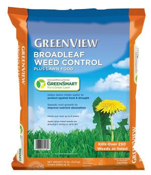 Lebanon Greenview Broadleaf Weed Control plus Lawn Food 27-0-4 1ea/5M 13 lb
