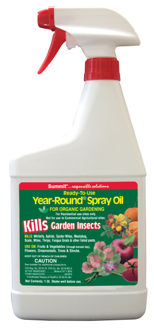 Summit Year-Round Spray Oil Kills Garden Insects 12ea/32 fl oz