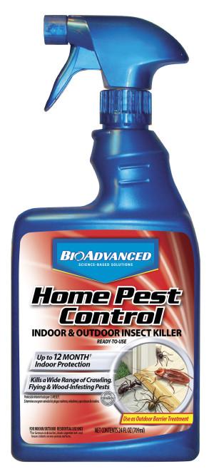 BioAdvanced Home Pest Control Insect Killer Ready To Use 12ea/24 oz