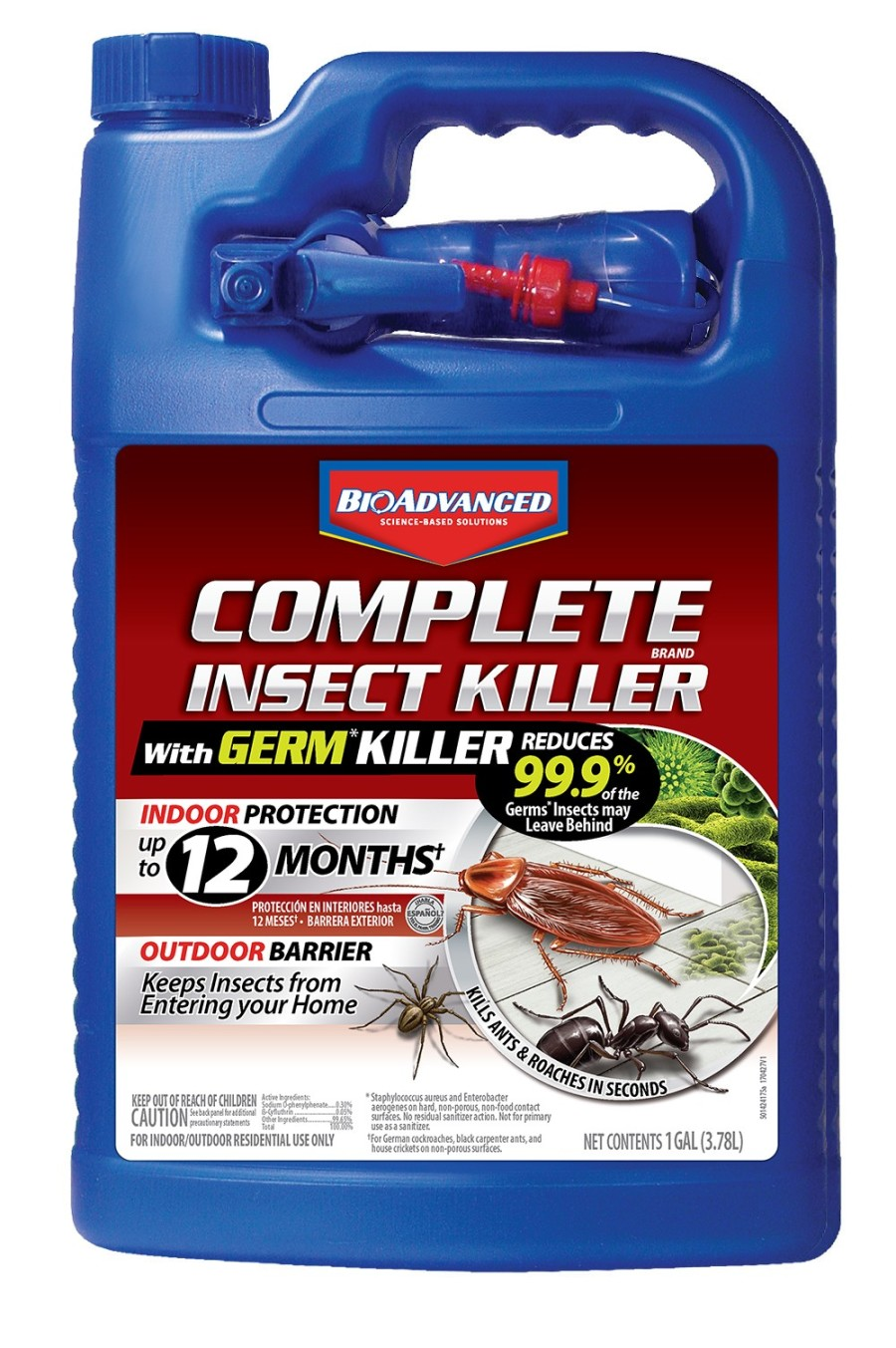 BioAdvanced Complete Insect Killer with Germ Killer Ready to Use 4ea/1 gal
