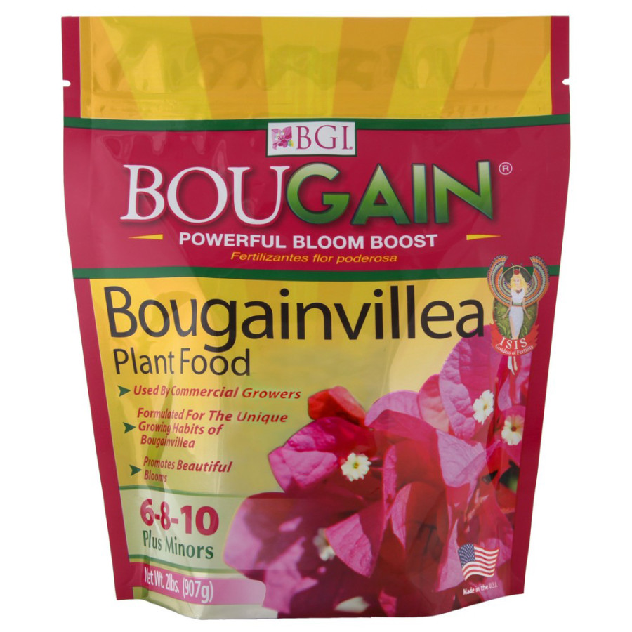 BGI Bougain Bougainvillea Fertilizer Plus Minors 6-8-10 12ea/2 lb