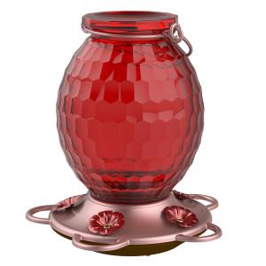 Classic Brands More Birds® Gem Hummingbird Feeder Gem Red 2ea/22 oz