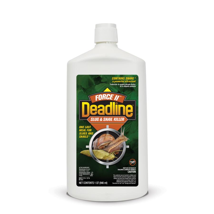 Deadline Force II Slug & Snail Killer Bait Liquid 12ea/32 oz