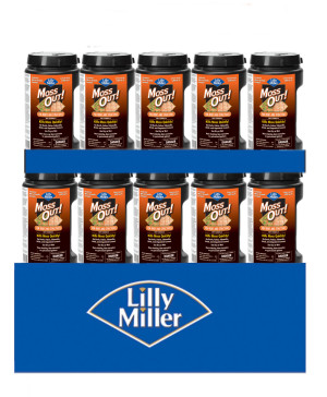Lilly Miller Moss Out! For Roofs And Structures Dry Formula Mini Pallet 48ea/6 lb