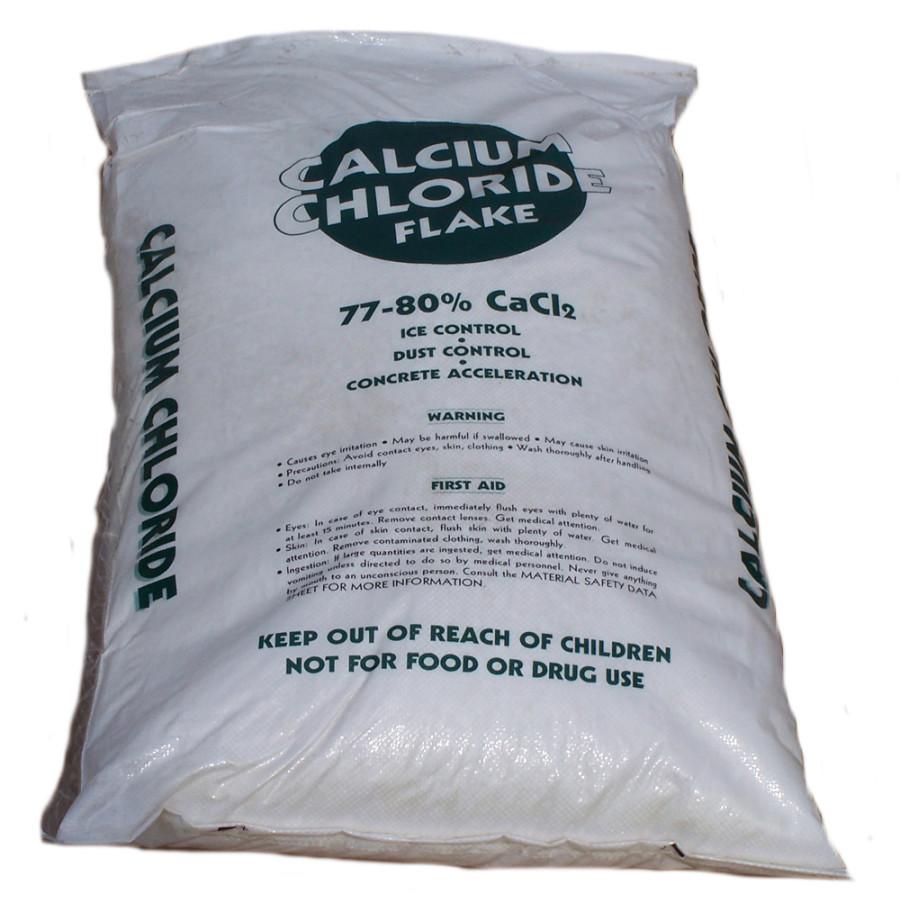 Valley Fertilizer Calcium Chloride Flake 77-80% 1ea/50 lb