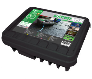 SOCKiTBOX Weatherproof Powercord Connection Box Black 10ea/Large