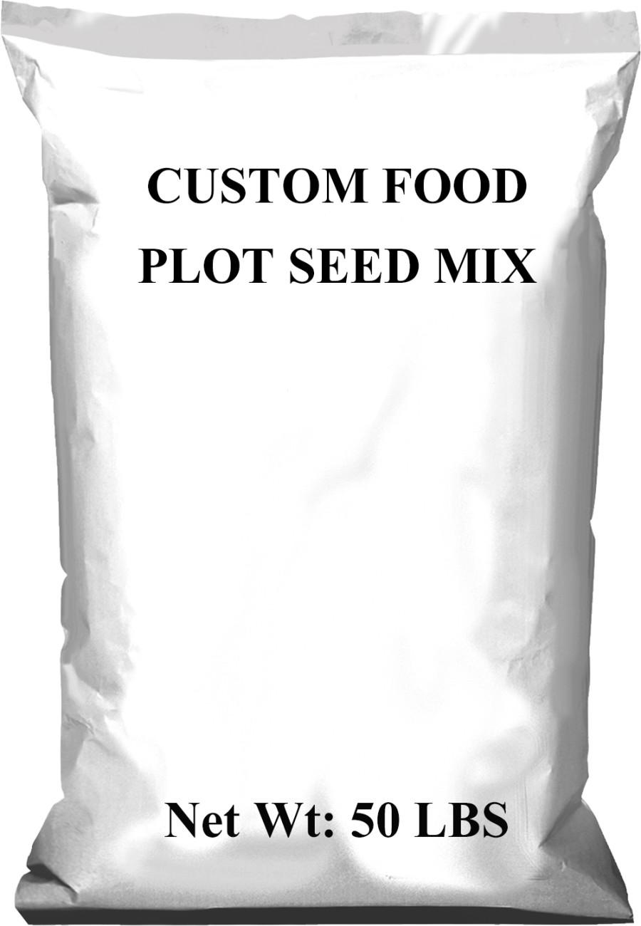 Pennington Custom Food Plot Seed Mix 1ea/50 lb