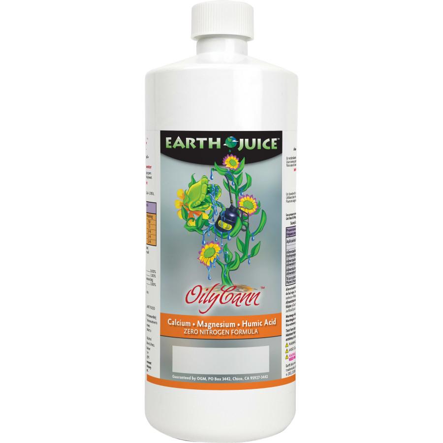 Earth Juice OilyCann Calcium, Magnesium & Humic Acid Supplement 12ea/32 oz