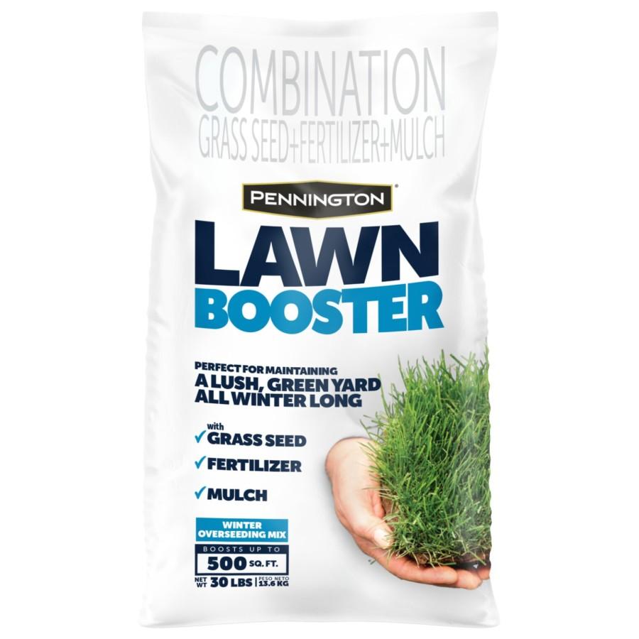 Pennington Lawn Booster Winter Overseed Grass Seed & Fertilizer 1ea/30 lb