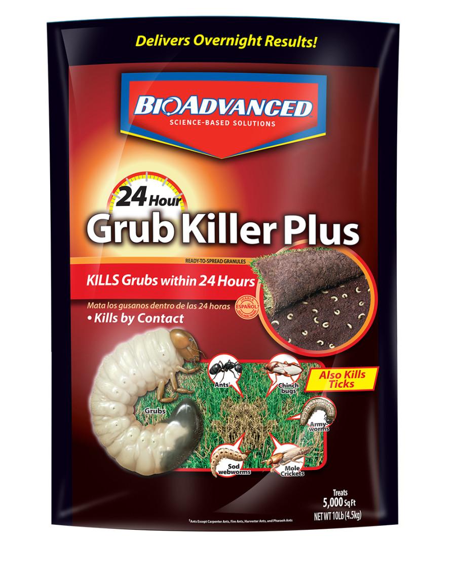 BioAdvanced 24 Hour Grub Killer Plus Granules 1ea/10 lb
