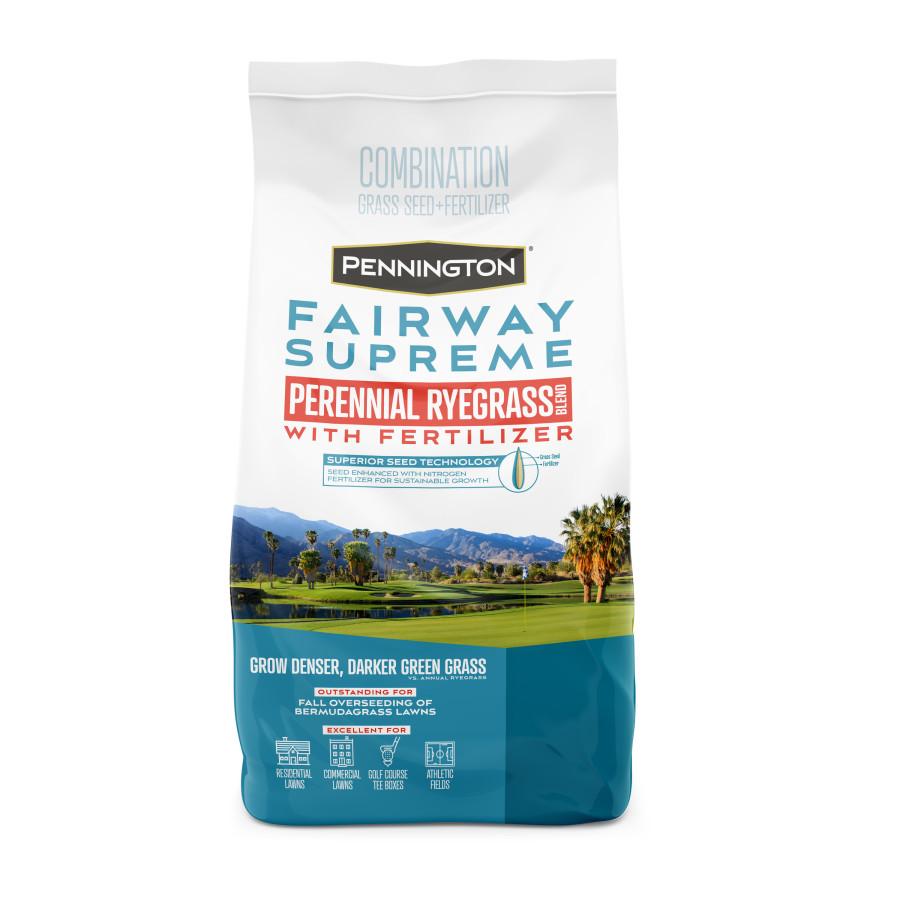 Pennington Fairway Supreme Perennial Ryegrass Seed Blend Powder Coated 6ea/5 lb