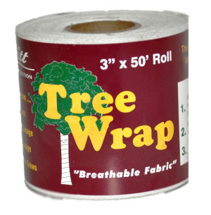 DeWitt Tree Wrap Breathable Fabric White 24ea/3Inx50 ft