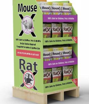 RatX & MouseX Mixed Display 1ea/Ratx 8Oz Mousex 1 lb