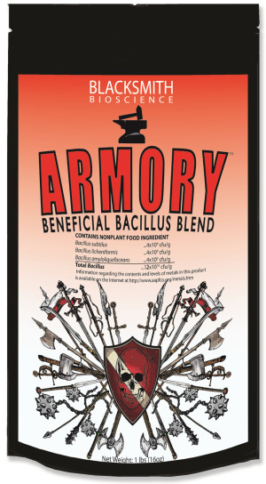 Blacksmith Bioscience Armory Beneficial Bacillus Blend 12ea/1 lb