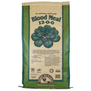 Down To Earth Blood Meal Natural Fertilizer 12-0-0 OMRI 1ea/50 lb