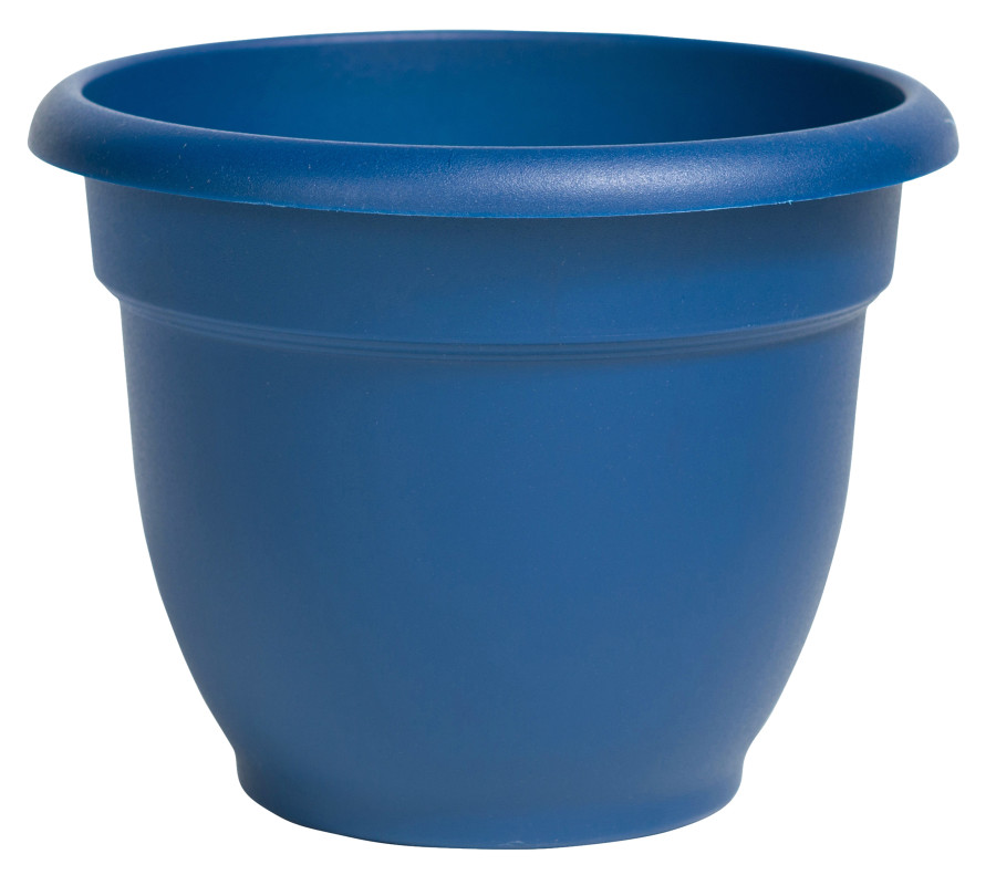Bloem Ariana Planter with Grid Classic Blue 10ea/12 in