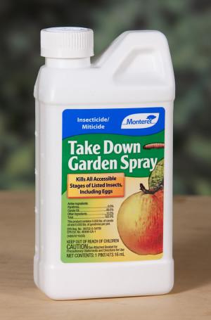 Monterey Take Down Garden Spray Insecticide/Miticide Concentrate 6ea/16 oz