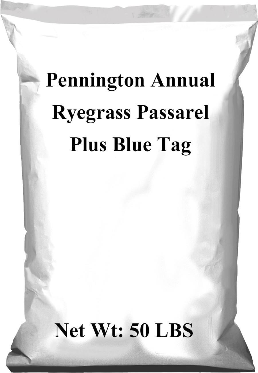 Pennington Annual Ryegrass Plus Blue Tag 1ea/50 lb
