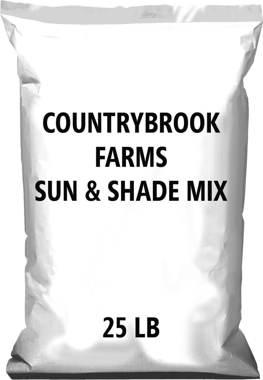 Pennington Countrybrook Farms Sun & Shade Mix 1ea/25 lb